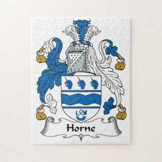 Horne Family Crest Puzzles