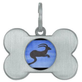 Horned Beast Pet ID Tag