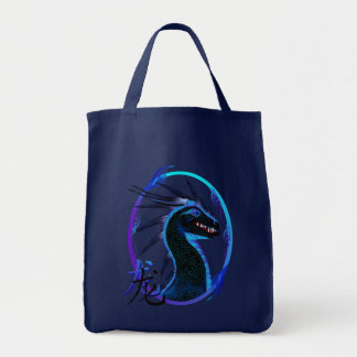 Horned Black Dragon and Symbol Bags