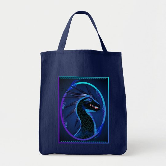 Horned Black Dragon Bags