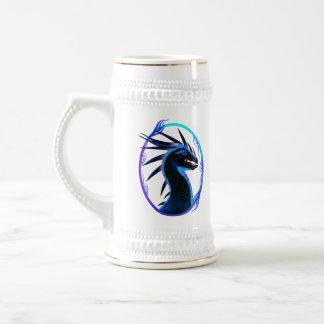 Horned Black Dragon Mugs