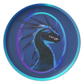 Horned Black Dragon Plates