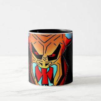 """Horned Devil """"Mug"""" Two-Tone Coffee Mug"""