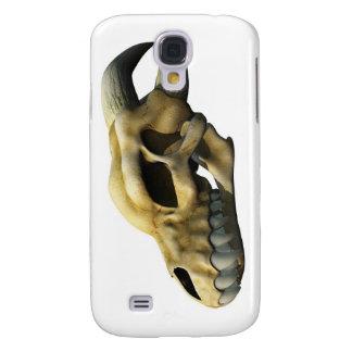Horned Dragon Skull Galaxy S4 Cases