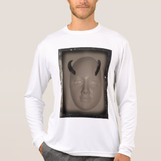 Horned Face With Beveled Edges by KLM Shirts
