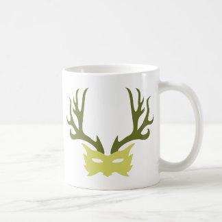 Horned God Mask Coffee Mug