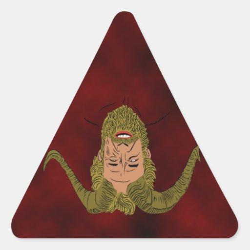 Horned God Triangle sticker