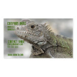 Horned Iguana Business Card
