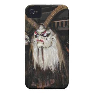 Horned Japanese Devil Mask iPhone 4 Cover