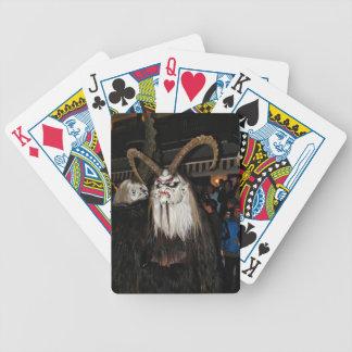 Horned Japanese Devil Mask Poker Deck