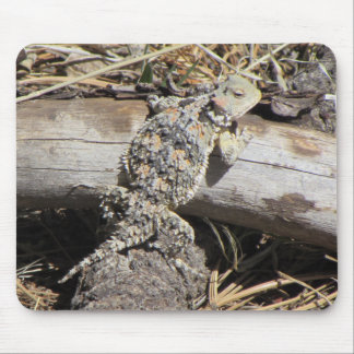 Horned Lizard Mouse Pad