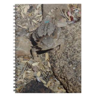 Horned Lizard Notebook