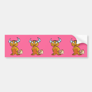 Horned Mythical Creature Bumper Sticker
