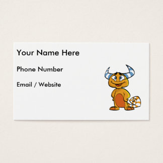 Horned Mythical Creature Business Card