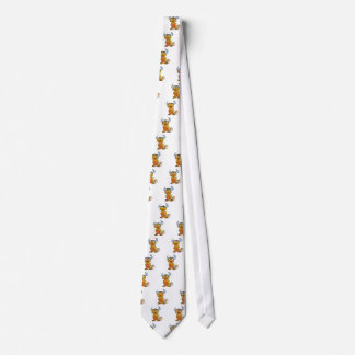 Horned Mythical Creature Neck Tie