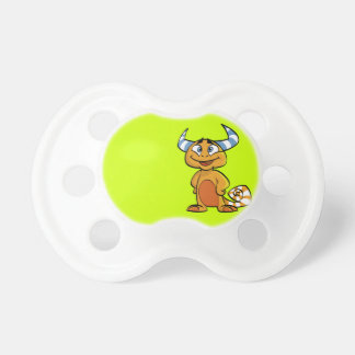 Horned Mythical Creature Pacifier