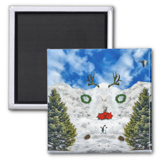 Horned One's Alter 2 Inch Square Magnet