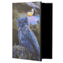 Horned Owl at Night by Steve Berger iPad Air Case