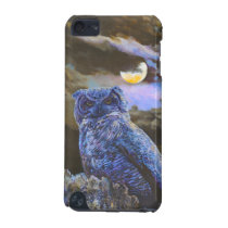 Horned Owl at Night by Steve Berger iPod Touch 5g iPod Touch (5th Generation) Cover