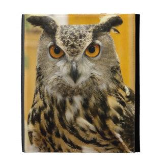 Horned Owl iPad Folio Case