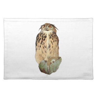 Horned Owl Placemat