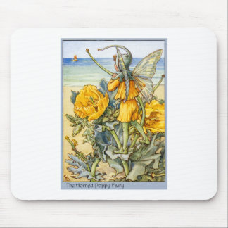 Horned Poppy  Fairy Mouse Pad