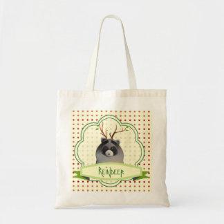 Horned raccoon bag