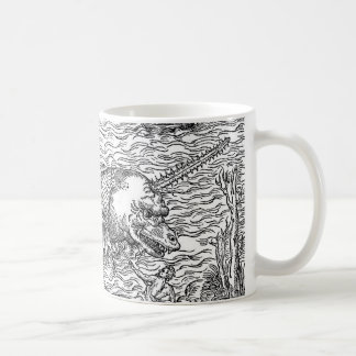 Horned Sea Serpent/Monster Coffee Mug