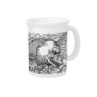 Horned Sea Serpent/Monster Pitcher