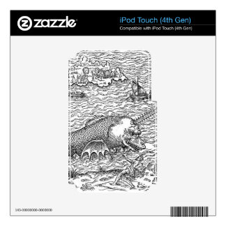 Horned Sea Serpent/Monster iPod Touch 4G Skins