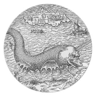 Horned Sea Serpent Plate