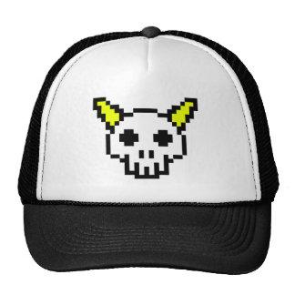 Horned Skull Trucker Hat