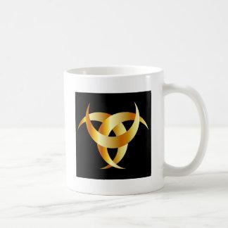 Horned Triskele- The horn of Odin Coffee Mug