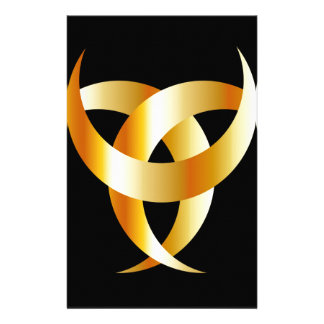 Horned Triskele- The horn of Odin Stationery