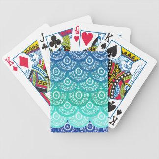 hornee el modelo a la crema y con pan rallado, art baraja de cartas