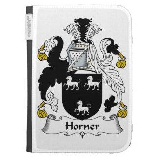 Horner Family Crest Kindle Cases