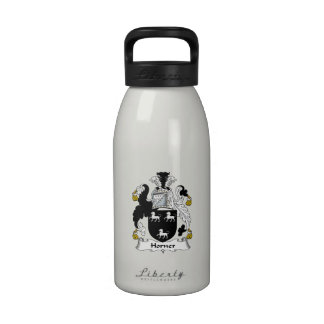 Horner Family Crest Water Bottles