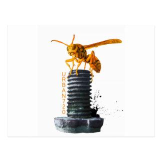 Hornet On Bolt Postcard