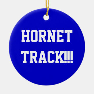 HORNET Track ornament