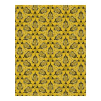 Hornets' Nest Scrapbook Paper Letterhead Template