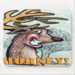 Horney Mouse Pad