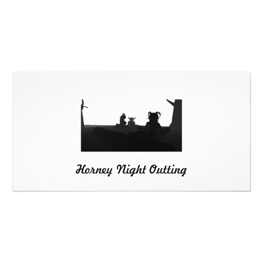 Horney Night Outting Card