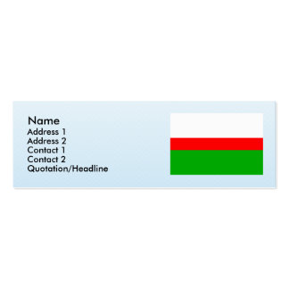 Horni Briza, Czech Business Card Templates