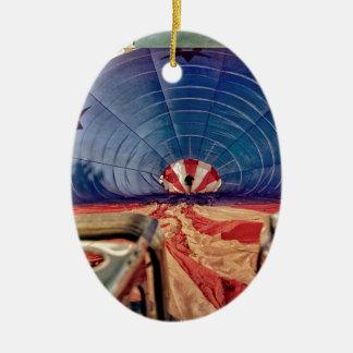 Hornillas de aerostación del globo del aire adorno ovalado de cerámica