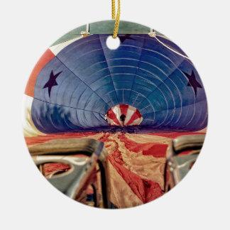 Hornillas de aerostación del globo del aire adorno redondo de cerámica