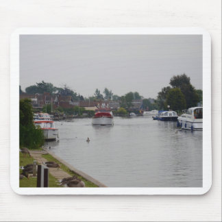 Horning On The River Bure Mouse Pad