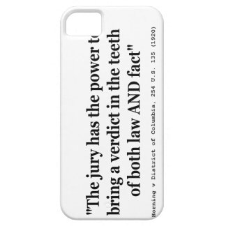Horning v District of Columbia 254 U.S. 135 (1920) iPhone SE/5/5s Case