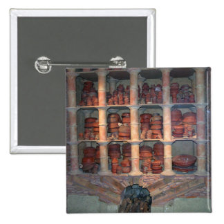 Horno de la cerámica de Graufesenque, c.150 A.C. ( Pin Cuadrada 5 Cm