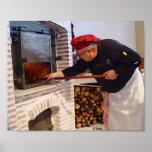 Horno del olor de panadero(Hornear).Oils Atwork Impresiones
