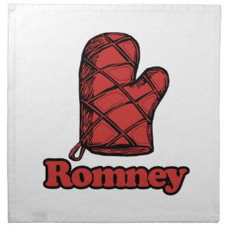 Horno Mitt Romney .png Servilletas De Papel